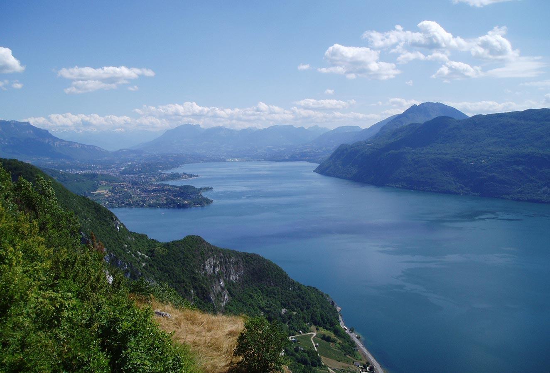 Point de vue sur le Lac d'Aix-Les-Bains