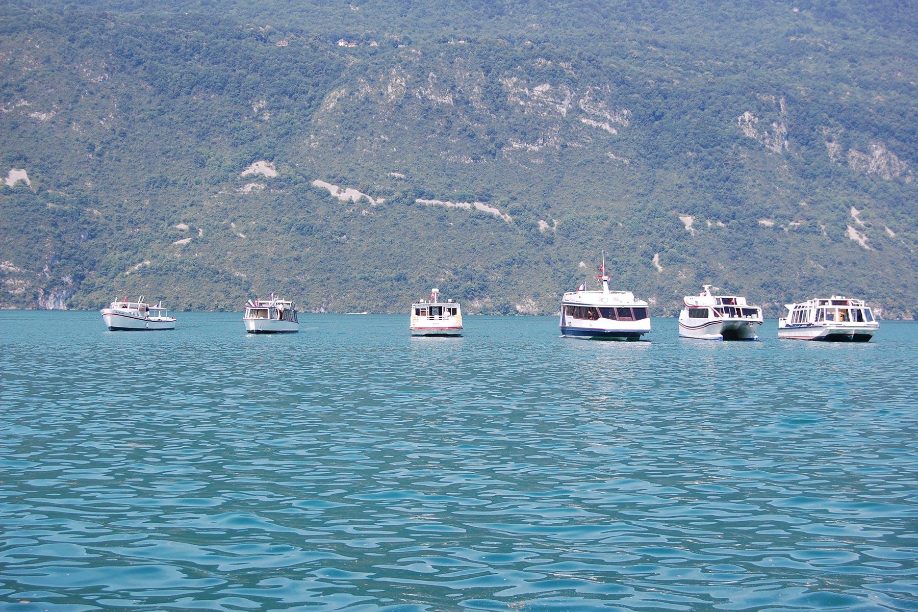 Flotte Compagnie des Bateaux d'Aix-les-Bains